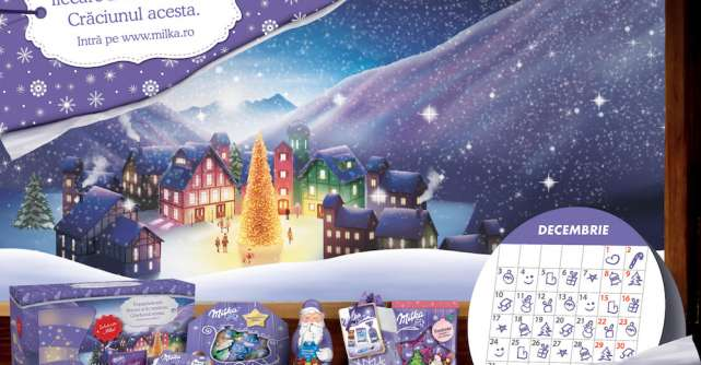 În decembrie, în așteptarea Crăciunului,Milka te invită să oferi tandrețe în fiecare zi