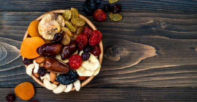Cele mai sanatoase fructe uscate