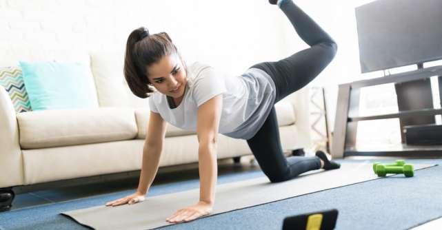 Cinci exerciții fizice pentru a vă menține sănătoși în timpul distanțării sociale