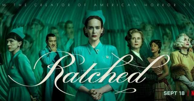 Ce bine arăți astăzi, Mildred! Sarah Paulson joacă rolul principal în Ratched, disponibil din 18 septembrie pe Netflix