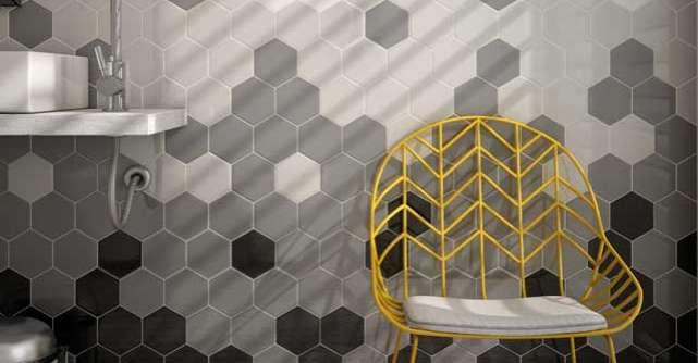 Cool: motive hexagonale, in amenajari