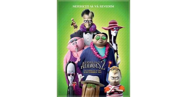 The Addams Family 2/ Familia Addams 2 un roadmovie exotic, o animație originală plină de aventuri stranii și umor bizar