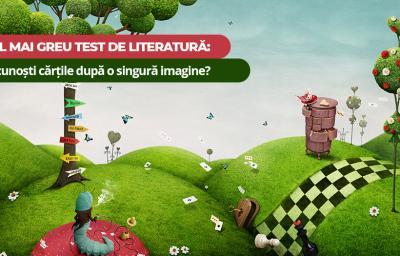 Cel mai greu test de literatura: Recunosti cartile dupa o singura imagine?