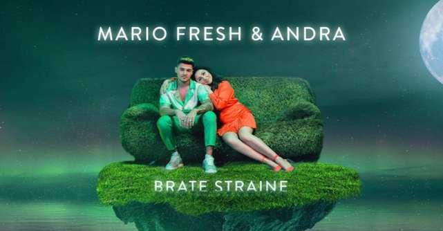 Mario Fresh și Andra lansează o piesă senzuală de vară: Brațe străine