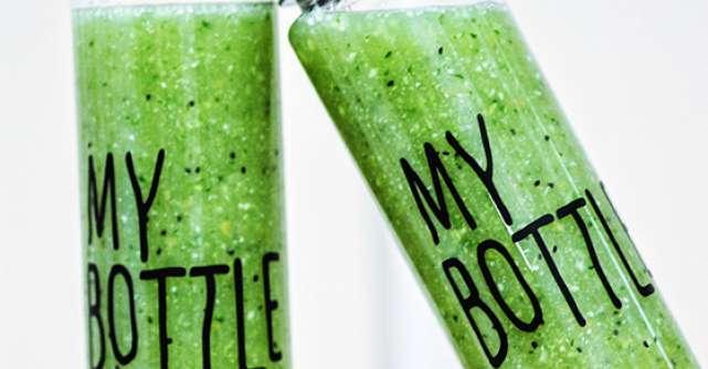 Verde pentru viata. Nutritie cu smoothie-uri verzi