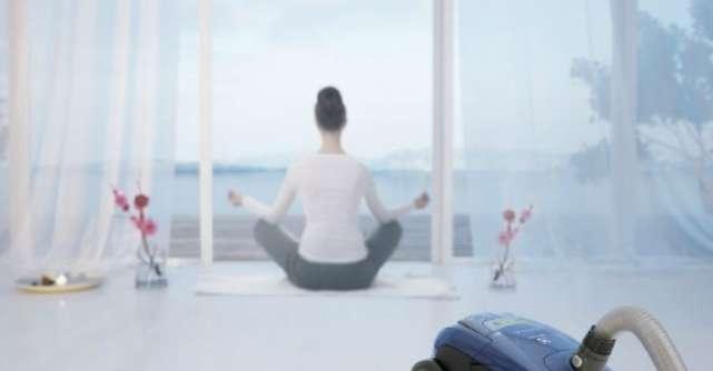 Aspira in liniste, cu ajutorul UltraSilencer Zen de la Electrolux