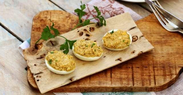 Reteta rapida: Cele mai bune ouă umplute