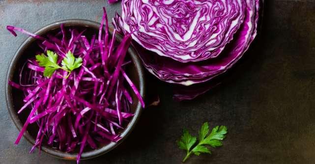 Varza rosie, un super aliment pentru sanatate