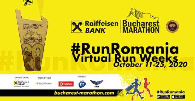 3000 de alergători au luat startul în cadrul singurului maraton stradal din România în 2020Raiffeisen Bank Bucharest MARATHON
