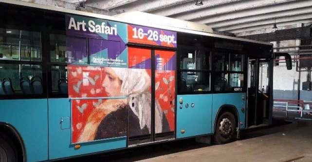 Art Safari urcă în autobuz