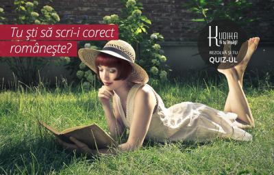 Tu sti sa scri-i corect romaneste?