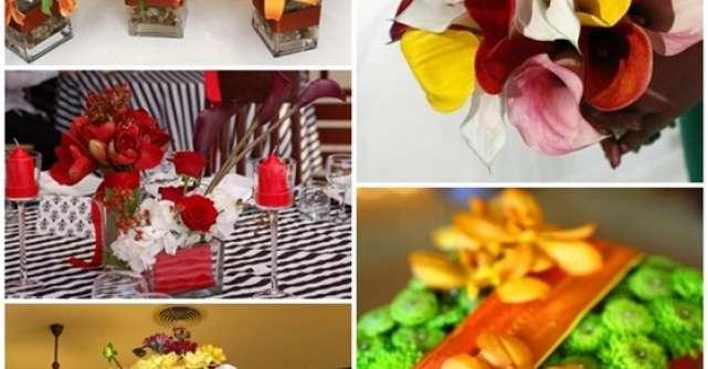 Nunta de toamna: Cele mai frumoase aranjamente florale