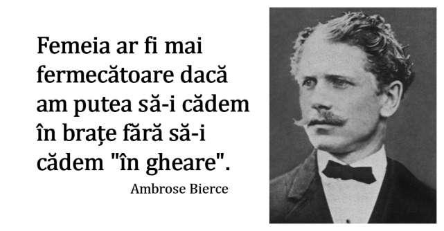 Alfabetul dragostei: Cele mai frumoase citate despre iubire dupa Ambrose Bierce