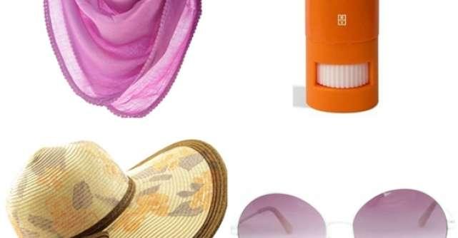 Produse si accesorii pentru protectie impotriva soarelui