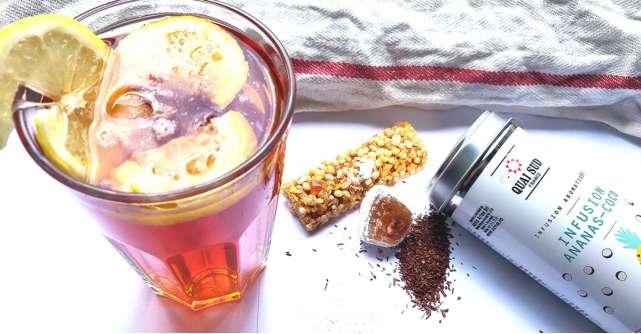 Cum să faci ice tea cu aromă de cocktail: păstrează vara tropicală cu iz de piña colada!