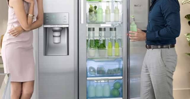 Noul frigider Samsung Food ShowCase este disponibil si in Romania