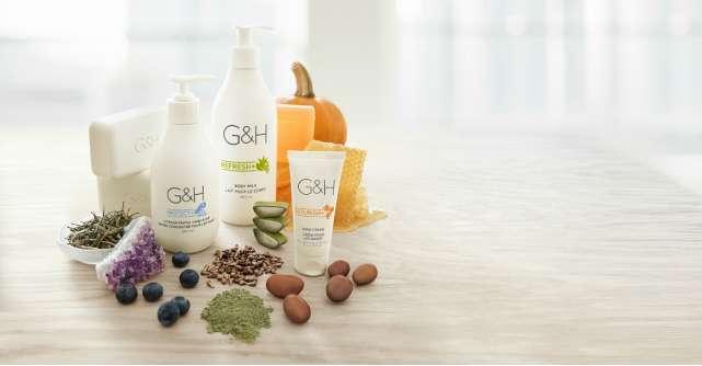 Descopera beneficiile naturii cu noile produse G&H pentru ingrijirea pielii, oferite exclusiv de Amway