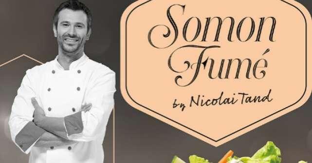 McDonald's prezinta noua salata din colectia a la chef,  Somon Fume by Chef Nicolai Tand