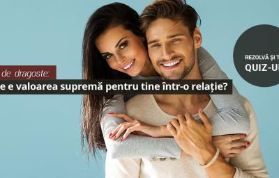 Test de  dragoste: Care e valoarea suprema pentru tine intr-o relatie?