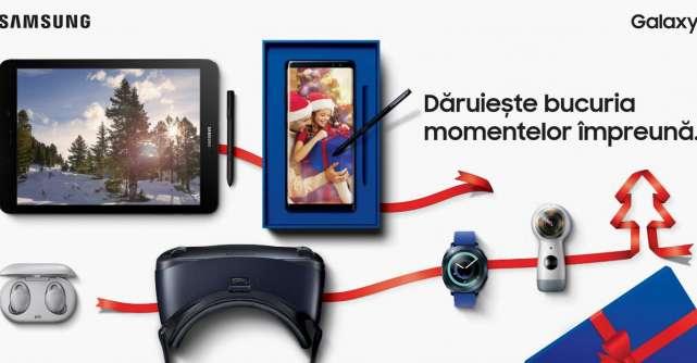 Samsung celebreaza bucuria de a darui in noua campanie de sarbatori