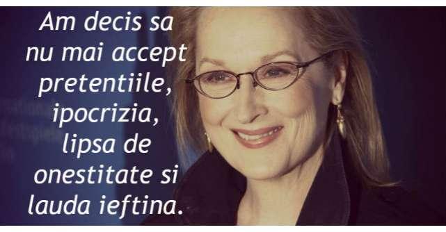 Nu mai am rabdare. Scrisoarea deschisa a lui Meryl Streep pentru omenire a devenit virala pe internet