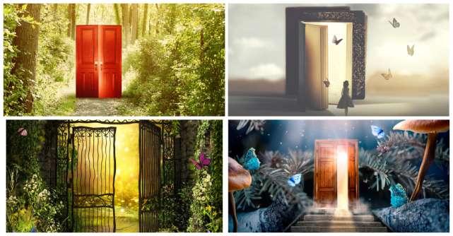 Alege o ușă de mai jos și află ce îți va aduce luna iulie