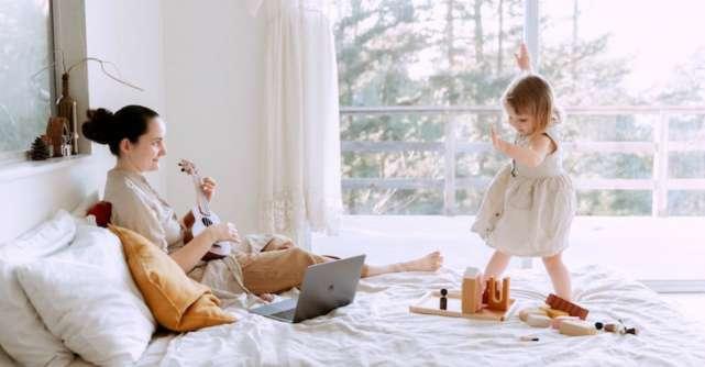 Modalități de a-i ține ocupați pe cei mici în contextul distanțării sociale