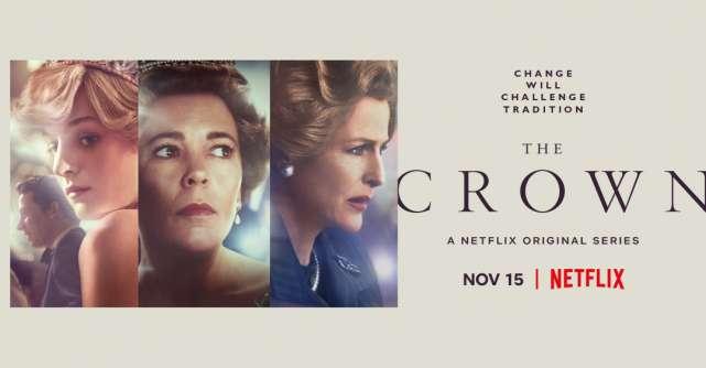 Trailer-ul oficial pentru The Crown Sezonul 4 a fost lansat recent