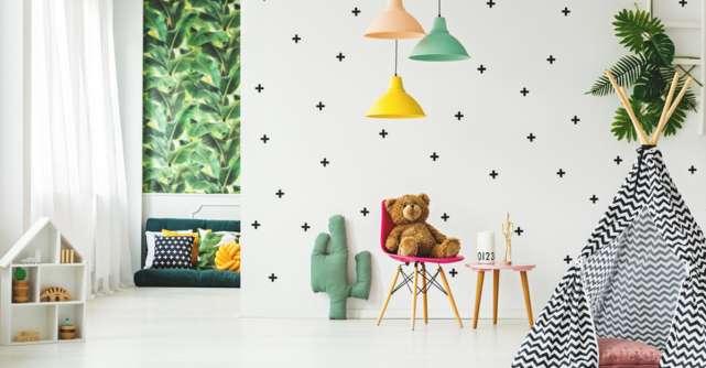 Camera copilului: elemente de mobilier creative, cu design deosebit