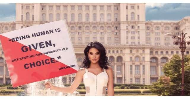 Adelina Pestritu promoveaza Romania de pe coperta unei reviste internationale