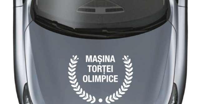 Renault este masina oficiala a Tortei Olimpice in Romania
