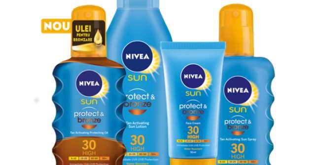 Hot temptation: bronz irezistibil cu gama NIVEA Sun Protect & Bronze!