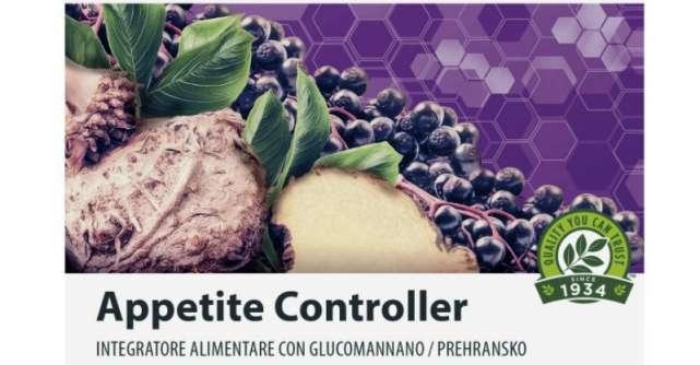 Preluati controlul asupra greutatii cu Appetite Controller, noul supliment alimentar din gama Nutrilite