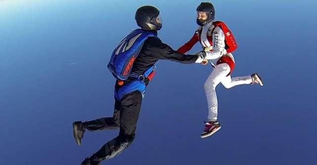 Maiestrie feminina la 4.000 de metri in cel mai important eveniment din Romania pentru femei parasutist