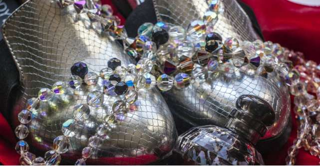 Ghete argintii si aurii in trendurile 2017