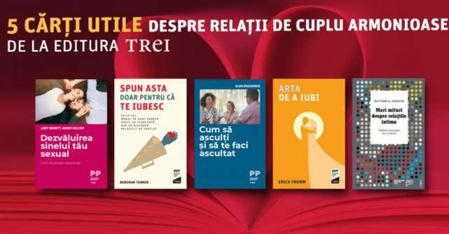 5 cărți utile despre relații de cuplu armonioase