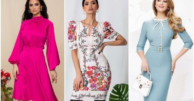 Rochiile de primăvară aduc feminitate și eleganță în garderoba ta
