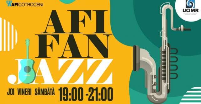 AFI FAN Jazz se reîntoarce la AFI Cotroceni