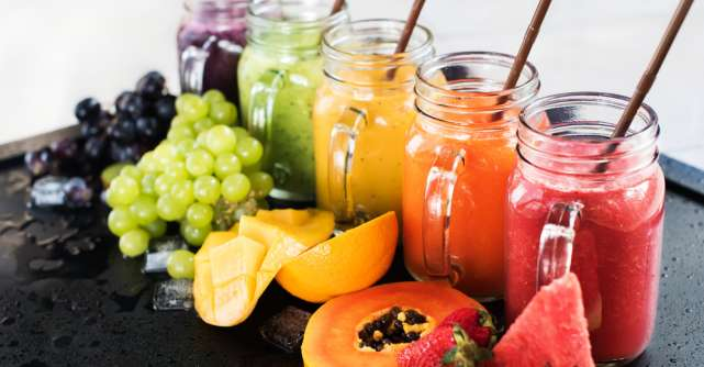 Sucul de fructe in alimentatia copiilor