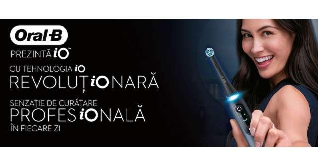 Oral B lansează noua periuță de dinți electrică cu tehnologia revoluționară iO!
