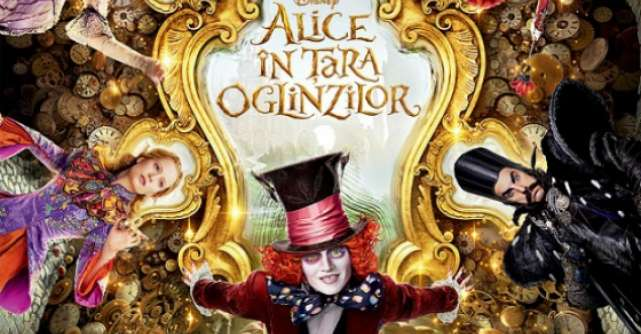 Alice In Tara Oglinzilor, reintoarcerea in Underland