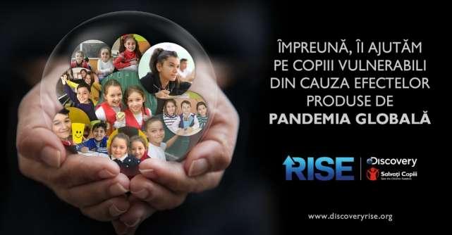 Discovery sustine SALVAȚI COPIII ROMÂNIA pentru donatii catre fondul de ajutor impotriva COVID-19