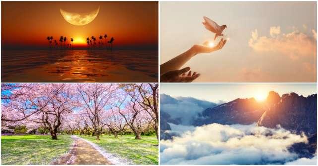 Alege o imagine de mai jos și află ce îți va aduce luna mai