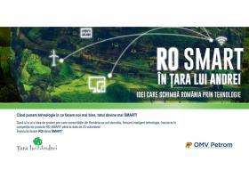 RO SMART in Tara lui Andrei, competitia natională de proiecte care schimba Romania prin tehnologie