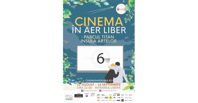 A VI-a editie a Cinema in Aer Liber se intoarce pe Insula Artelor din Parcul Titan
