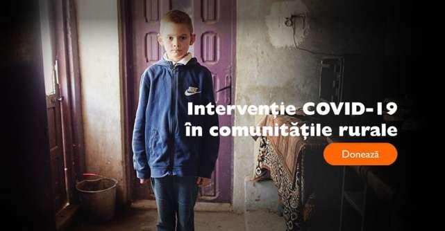 CORONAVIRUS: Strângere de fonduri pentru familiile din mediul rural