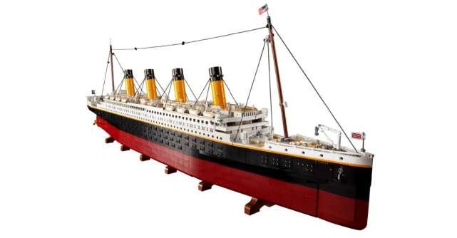 LEGO Titanic: Cea mai celebră ambarcațiune din istorie se alătură familiei LEGO