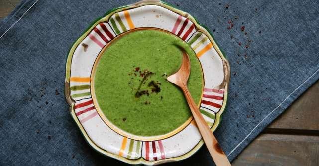 Supa verde detoxifianta - portia ta de multivitamine!
