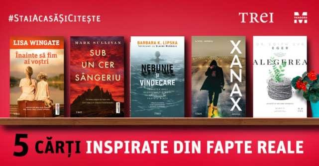 5 cărți inspirate din fapte petrecute în realitate