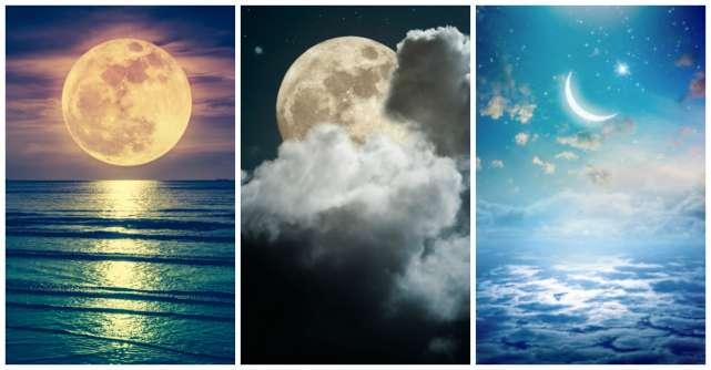Alege o luna pentru a iti dezvalui gandurile tale ascunse